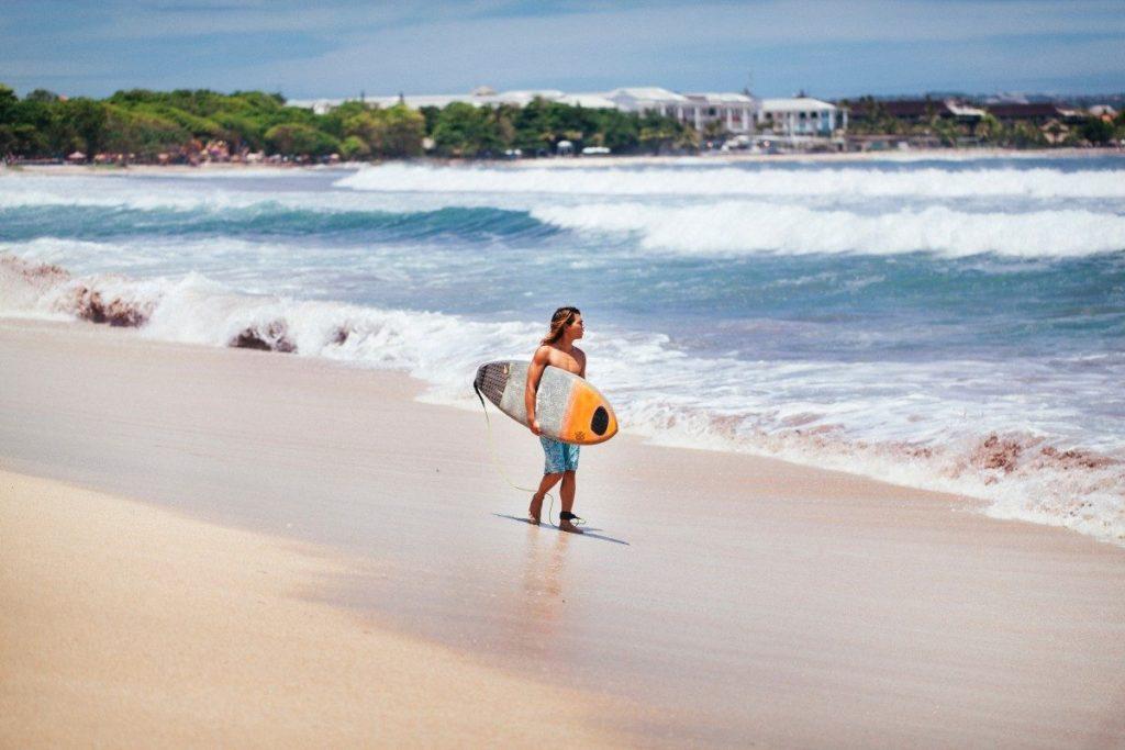О пляжах на Бали