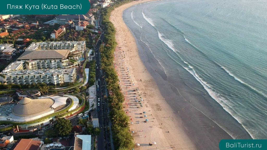 Основная информация о пляже Кута