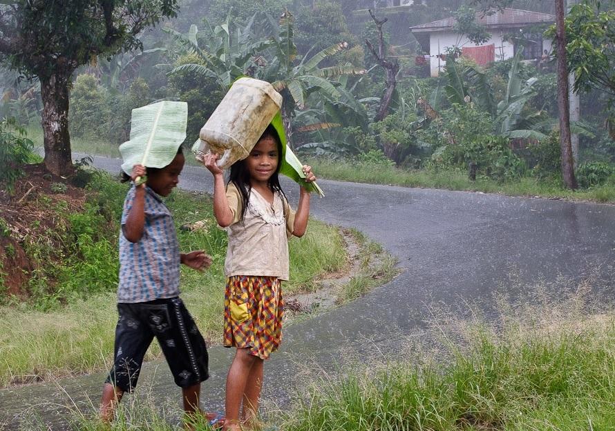 Про сезон дождей на Бали