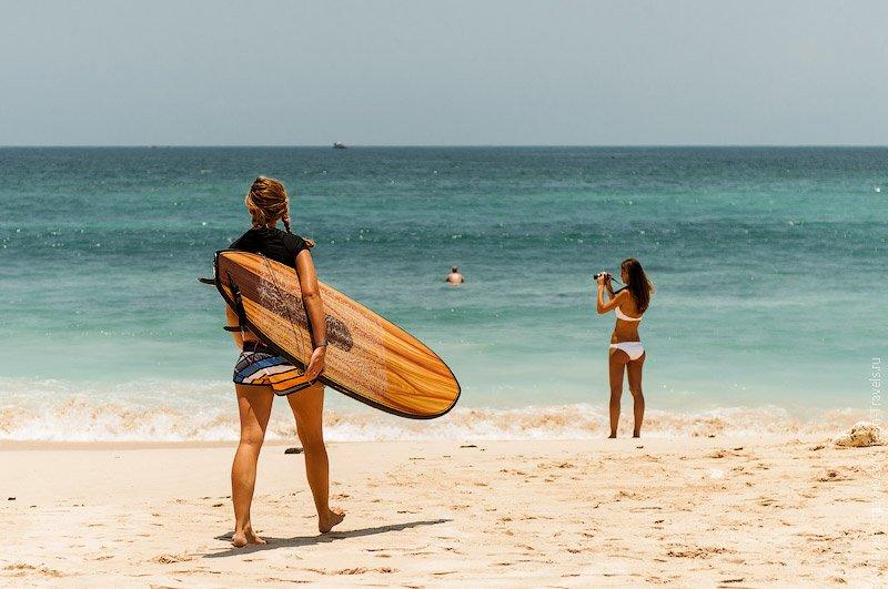 Список пляжей, которые лучше всего подходят для серфинга на Бали