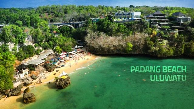 Инфраструктура пляжа Паданг Паданг