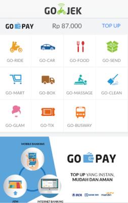 Используйте приложение GoJek, чтобы добраться до пляжа Бату Болонг