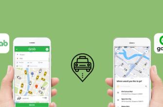 Как пользоваться приложениями такси Граб и Гоуджек на Бали
