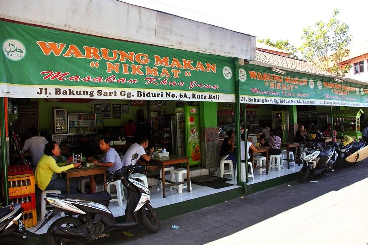 Как выглядит варунг на острове Бали