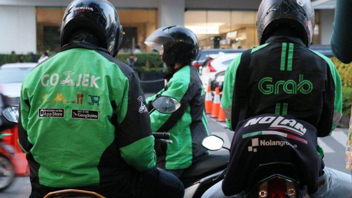 Как заказать такси через Grab и GoJek на острове Бали