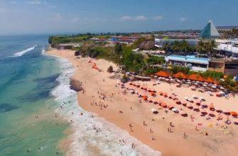 Обзор пляжа Дримленд на Бали