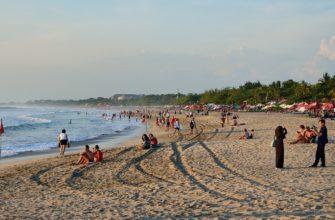 Обзор пляжа Легиан на Бали