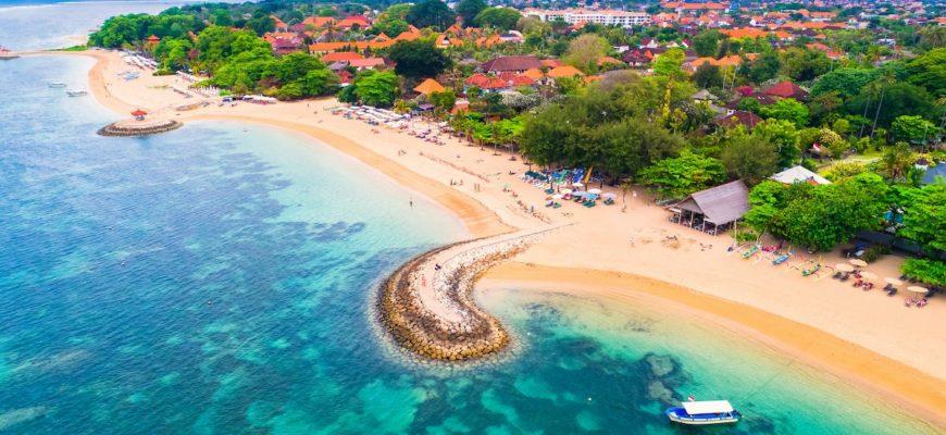 Обзор пляжа Санур на Бали