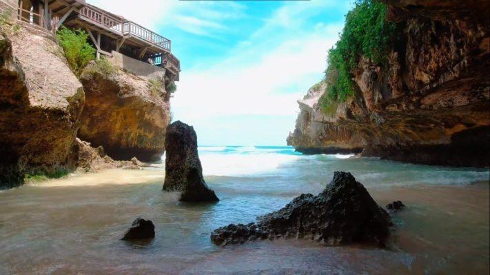 Первая часть пляжа Сулубан