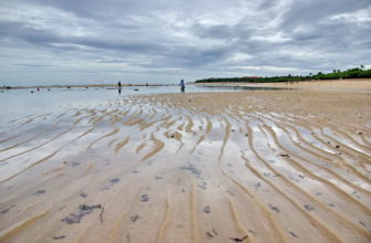 Приливы и отливы на острове Бали
