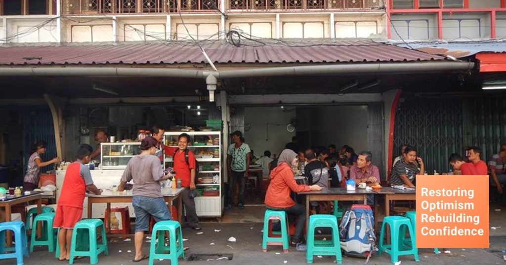 Варунг на Бали для местных жителей
