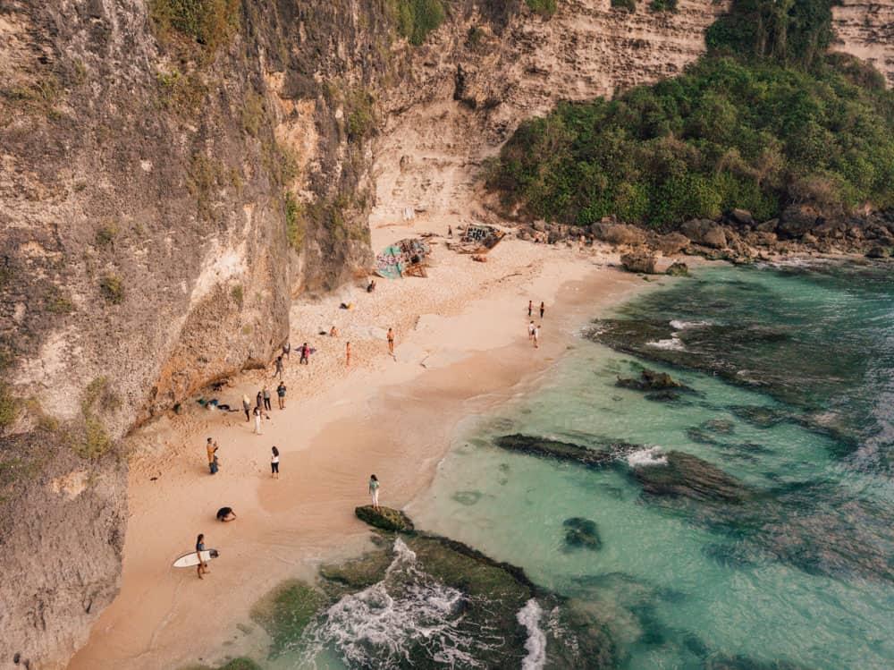 Вторая часть Suluban Beach